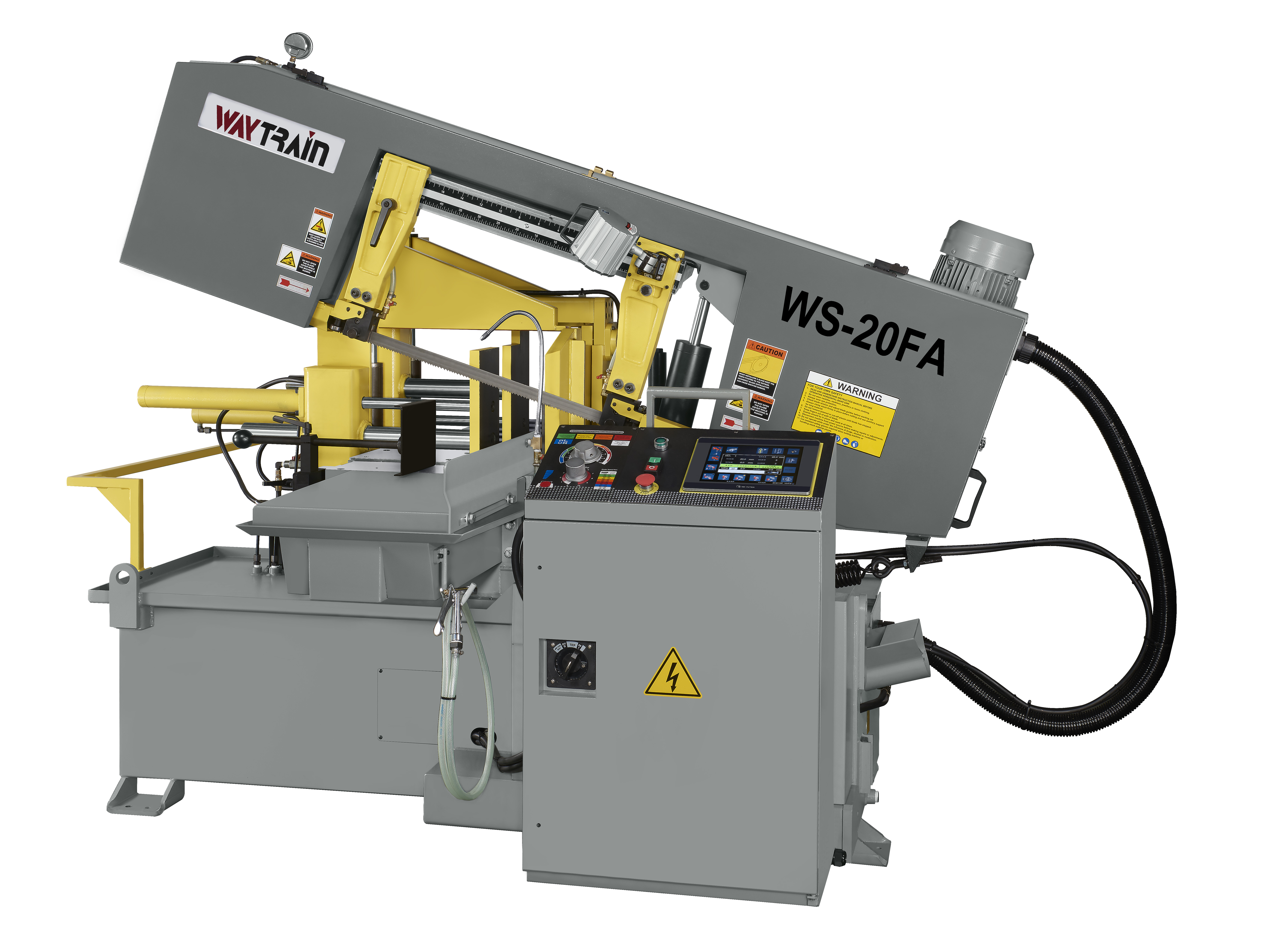 Fully-Auto Single Miter Cutting Band Saw
