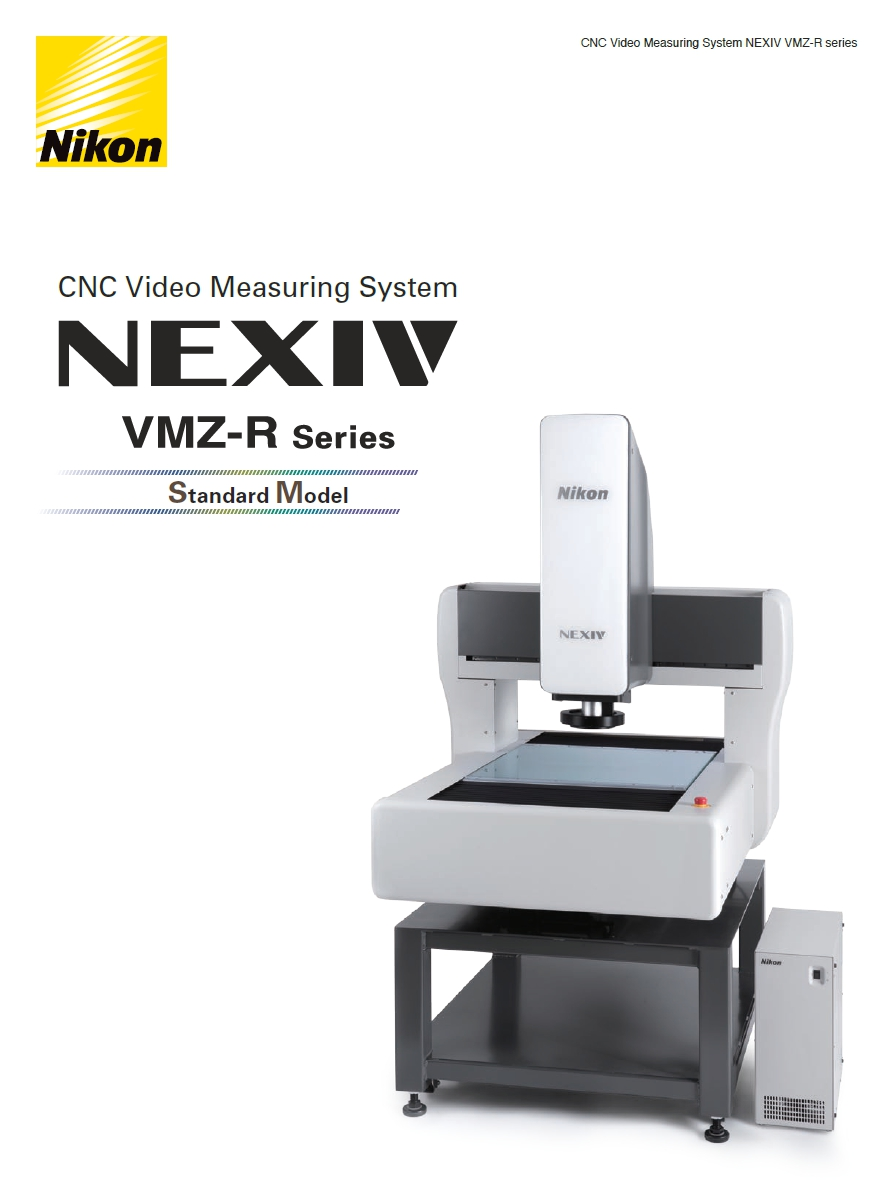 NIKON CNC Video measuring system