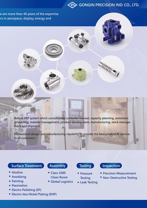 Spare parts for Display Equipment, Semiconductor Equipment, Aerospace & Energy