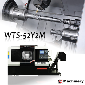 WTS-52Y2M/WTS-65Y2M Turrets type Turning and Milling Center