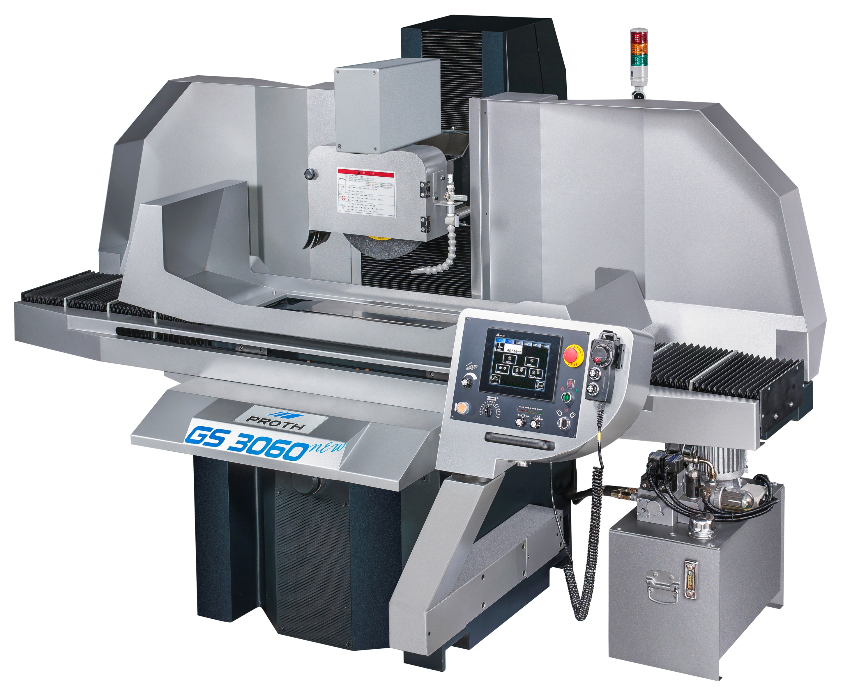 New Saddle Type Surface Grinder : PSGS-3060N/4080N