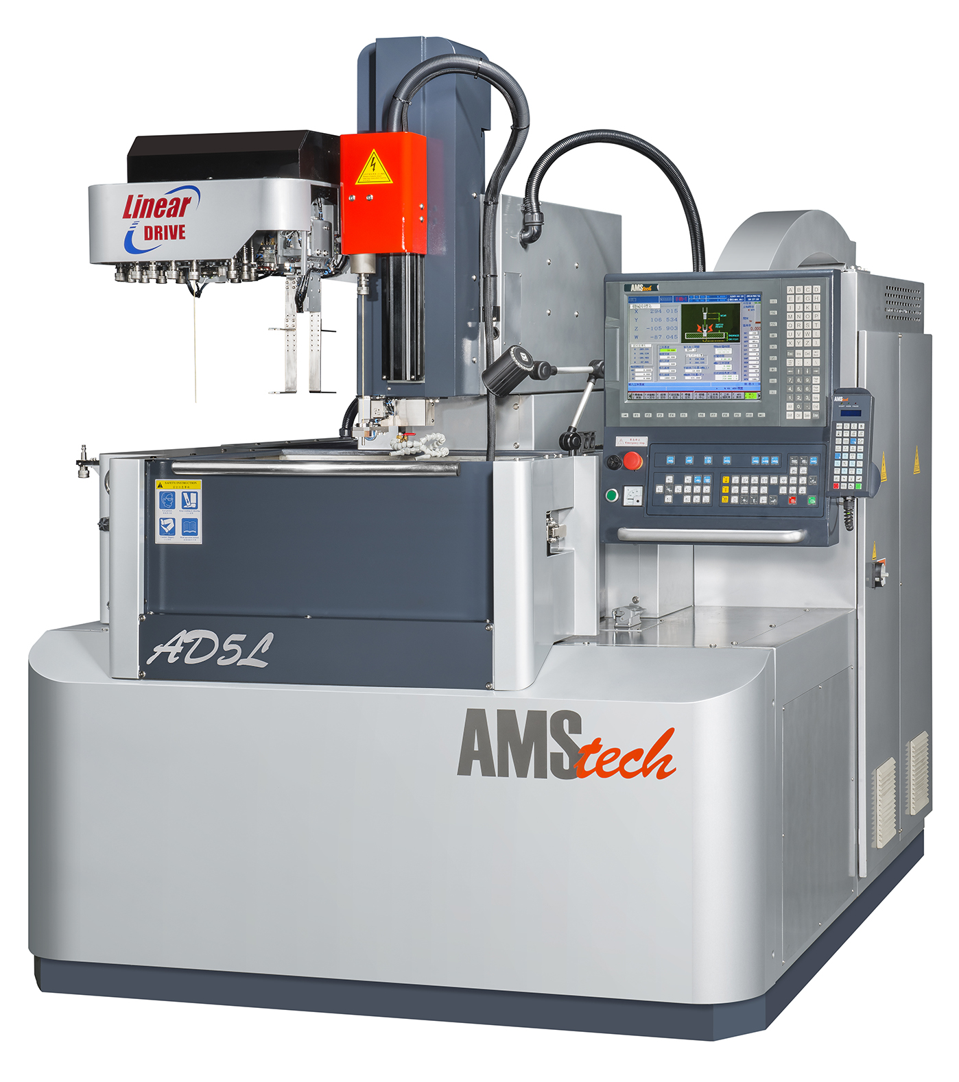 AMS HIGH SPEED SMALL HOLE DRILLING EDM