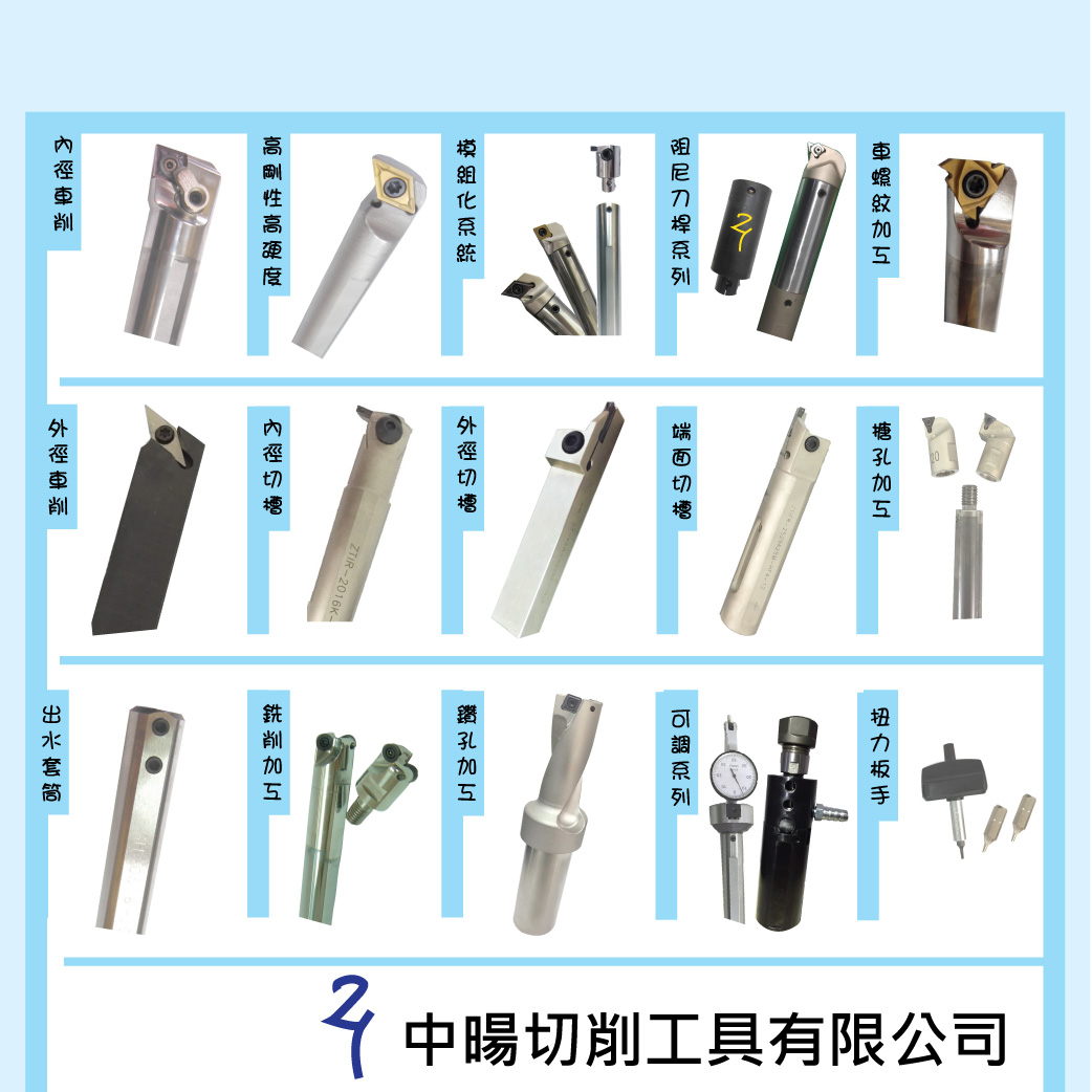 ZHONG YANG CUTTING TOOLS CO ., LTD.